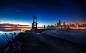 Обои United States, Chicago, Illinois, Gold Coast