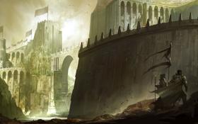 Картинка камни, стены, Замок