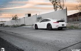 Картинка 911, Porsche, диски, корма, ZS05, Vibe, Zito