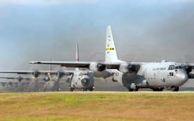 Обои авиация, самолёт, C-130 Hercules