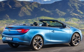 Обои машина, Opel, blue, опель, Cascada