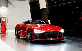 Обои Audi, Spyder, Tron