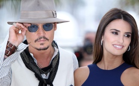 Картинка фото, знаменитости, Johnny Depp, шляпа, очки, Джонни Депп, актеры