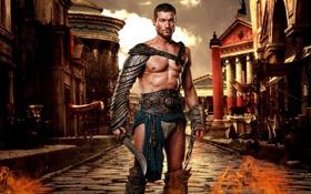 Картинка Andy Whitfield, гладиатор, spartacus, спартак, енди