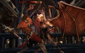 Картинка Крест, Бой, Вампир, Kojima Productions, Габриэль Белмонт, Castlevania: Lords of Shadow