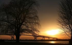 Обои фото, города, обои, вид, мосты, места