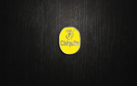 Обои logo, International, yellow, Chiquita, Brands