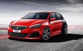 Обои Concept, Peugeot, Car, пежо, 308