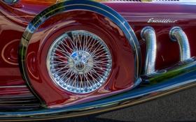 Обои Excalibur, запасное, wheel, колесо, close, запаска, hdr