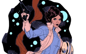 Обои star wars, gun, Princess Leia, Leia Organa Solo, leia organa