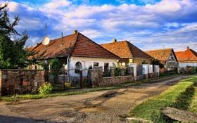 Картинка дома, улицы, Венгрия, Cserepfalu