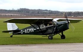 Обои самолет, легкий, британский, многоцелевой, DH.85, Leopard Moth