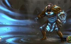Картинка Jupiter Flux, фэнтези, Flux, Heroes of Newerth, S2 Games, мужчина