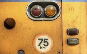 Обои фон, знак, автобус
