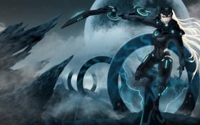 Обои Scorn of the Moon, League of Legends, Diana, Cyber