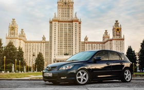 Обои Машина, Mazda, auto, МГУ, авто