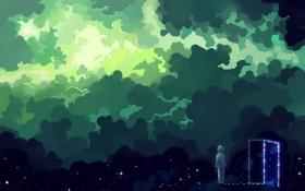Картинка арт, hangmoon, Green Dream