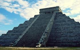 Обои майя, пирамида, мексика, Chichen Itza