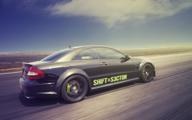 Картинка rear, Mercedes-benz, мерседес бенц, sector, profile, CLK-Klasse 209, shift s3ctor
