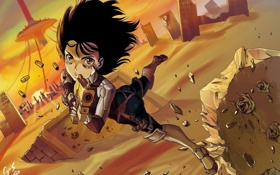 Обои девочка, gunnm, Battle angel alita