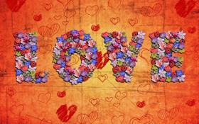 Обои Святой Валентин, любовь, сердце