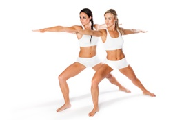 Обои white, women, pose, yoga