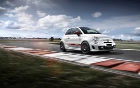 Обои Racing, Fiat, фиат, Abarth, 2015, 595
