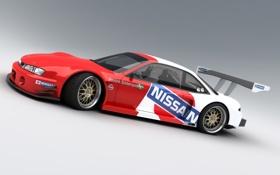 Обои GT500, nissan, Silvia, S14