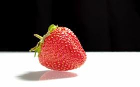 Картинка ягода, клубника, земляника, макро