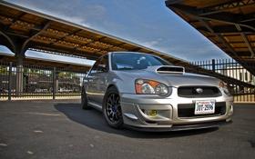 Картинка Subaru, Impreza, WRX, TURBO