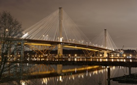 Обои Canada, British Columbia, Port Coquitlam, Port Mann Bridge, Citadel Heights