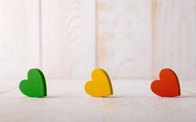 Картинка любовь, желтый, красный, зеленый, фон, widescreen, обои