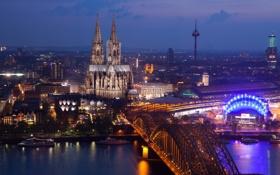 Обои город, Köln, Disco Cologne