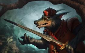 Обои sword, Disney, Robin Hood, Sheriff of Nottingham