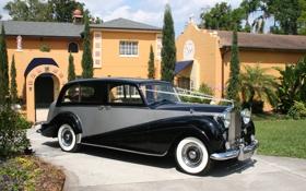 Обои авто, дом, ретро, обои, wallpaper, Rolls Royce, классика