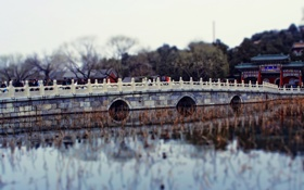 Картинка Китай, мостик, миниатюра