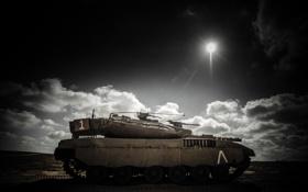 Обои танк, merkava, оружие картинки на рабочий стол, раздел оружие - скачать