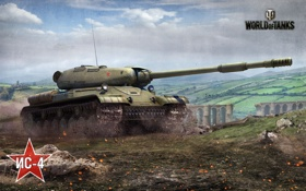 Обои world of tanks, war, ссср, Мир танков, танк, война