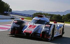 Картинка Audi, ауди, LMP1, R18, суперкар, e-Tron, спорт