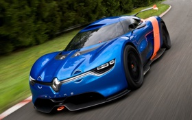 Картинка car, Concept, Renault, speed, рено, Alpine, A110-50