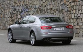 Картинка Maserati, автомобиль, Quattroporte S, мазерати, задок