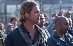 Обои люди, Brad Pitt, мужчины, Война миров Z, World War Z