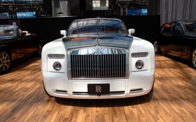 Обои Wite, Car, Rolls-Royce