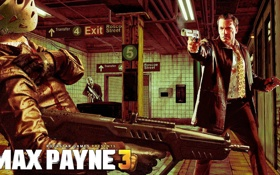 Картинка оружие, метро, маска, автомат, бандиты, DLC, дезерт игл