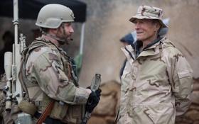 Обои актер, Брэдли Купер, режиссер, Снайпер, Clint Eastwood, Клинт Иствуд, Bradley Cooper