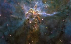 Обои ESO 128-EN13, Туманность Эты Киля, Туманность Киля, NGC 3372