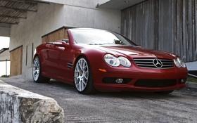 Картинка Mercedes, кабриолет, литье
