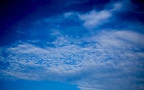 Обои облака, голубое, Небо