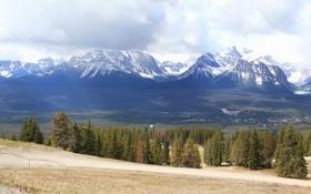 Картинка пейзаж, горы, природа, парк, Канада, Банф