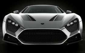 Картинка Серый, Автомобиль, Grey, Зенво, Zenvo, ST1, Cars